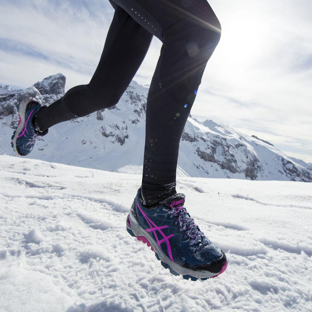 asics mens gel-fuji trabuco trail running shoes