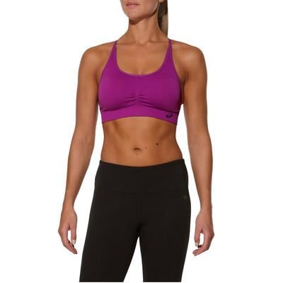 Asics Ruched Seamless Women's Training Bra