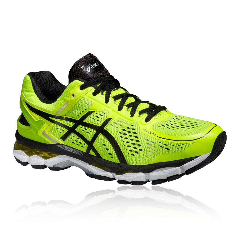 Détails sur ASICS Gel Kayano 22 Homme Vert Support Running Chaussures De Sport Baskets Escarpins afficher le titre d'origine