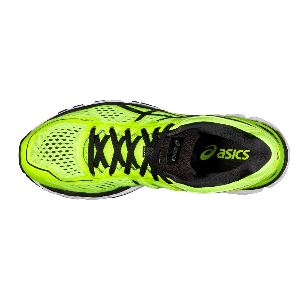 brand new 5ddc4 bd5fc Asics Hommes Gel Kayano 22 Chaussures De Course À Pied Baskets Sport Jaune
