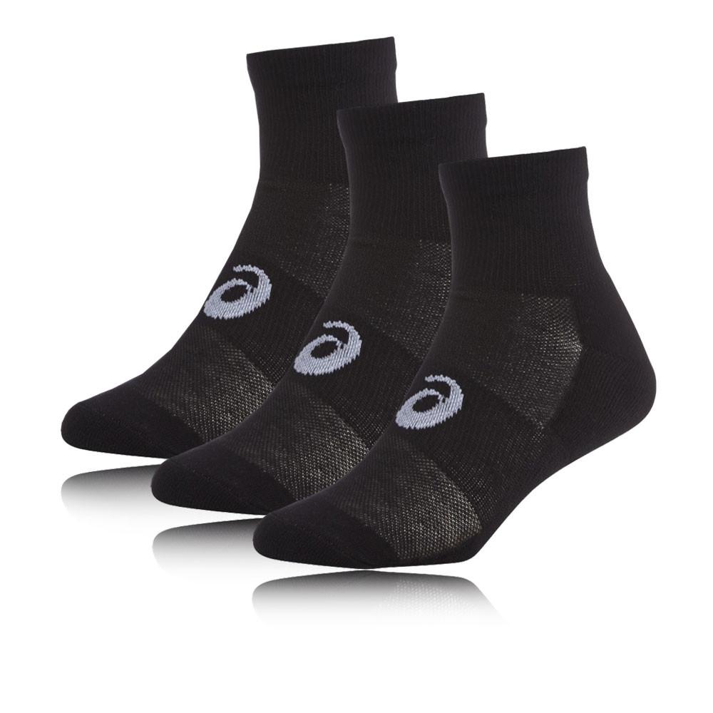 Asics Quarter corsa calze (3 Pack)