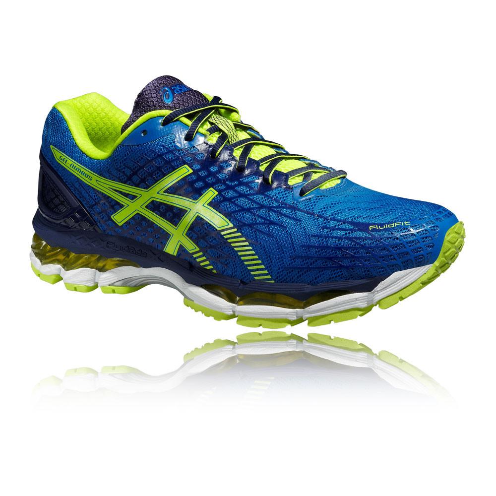 6cdfb0e96d1 ASICS GEL-NIMBUS 17 Hombre Azul Acolchado Running Deporte Zapatos Zapatillas