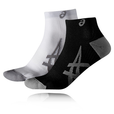 ASICS 2 Pack Lightweight Running Socks - AW19