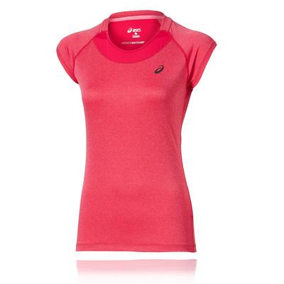 Asics Casquettesleeve femmes t-shirt course à pied - SS16