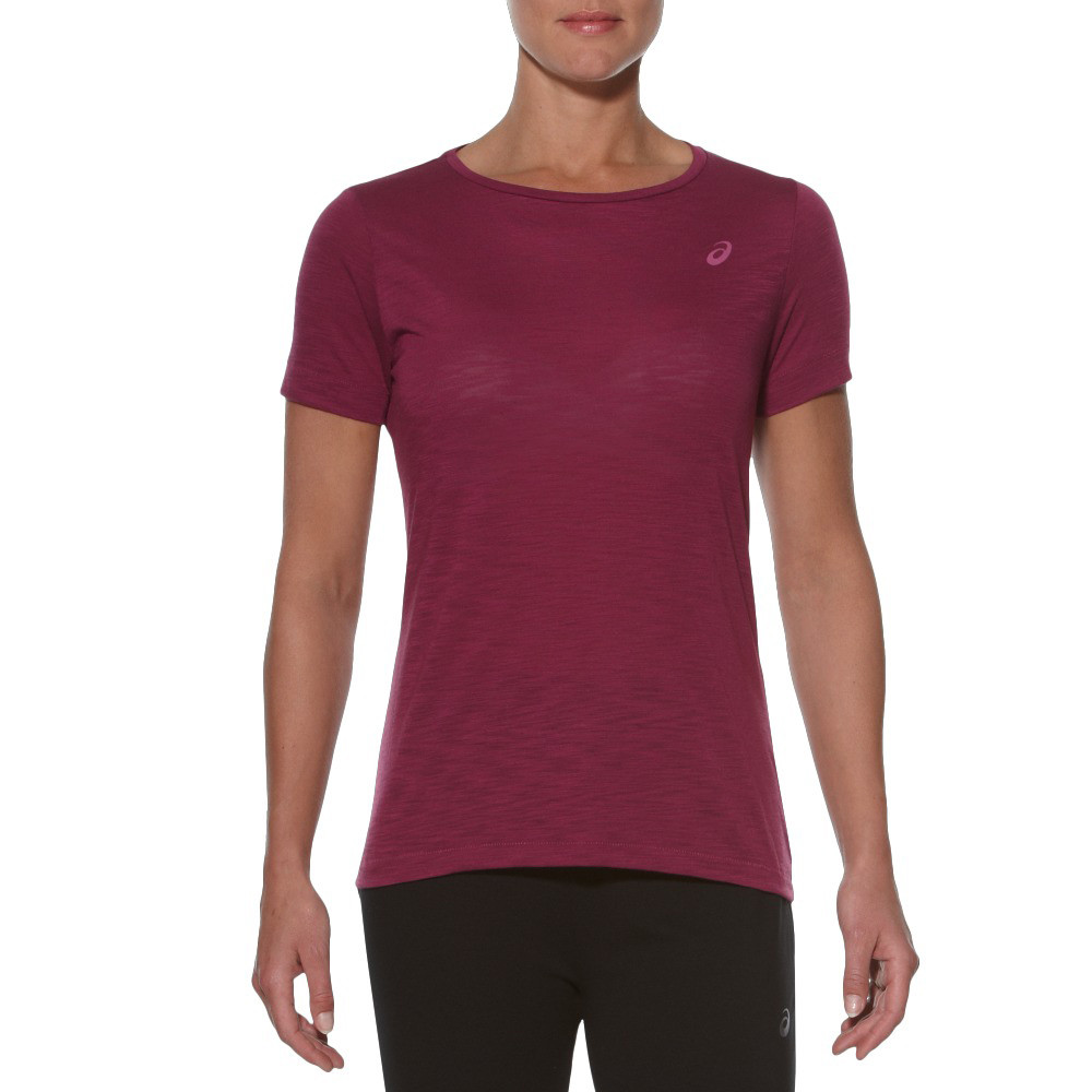 Asics layering women 39 s running t shirt ss16 for Women s running shirts