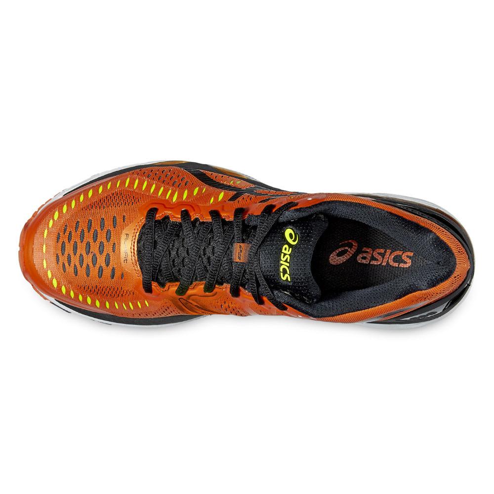 Détails sur Asics Homme GEL KAYANO 23 Chaussure De Course Orange Sport Respirant Réfléchissant afficher le titre d'origine
