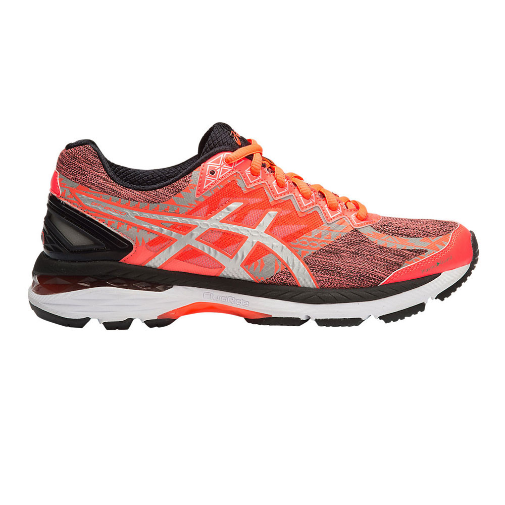 Asics GT-2000 4 Lite-Show Plasmaguard Womens Orange Support Running Shoes 3795cfb38