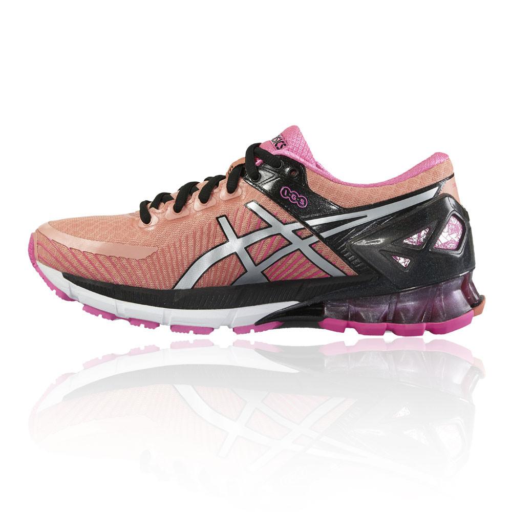 Asics Cushioned Gel-Kinsei 6 Damenschuhe Pink Cushioned Asics Running Sports Schuhes Trainers Pumps 4cb759