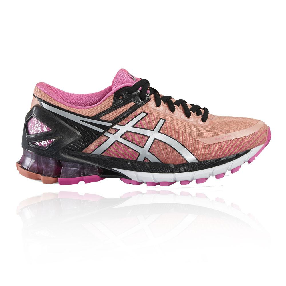 1466eb20833 Asics Gel-Kinsei 6 Mujer Rosa Acolchado Running Zapatos Zapatillas  Deportivas