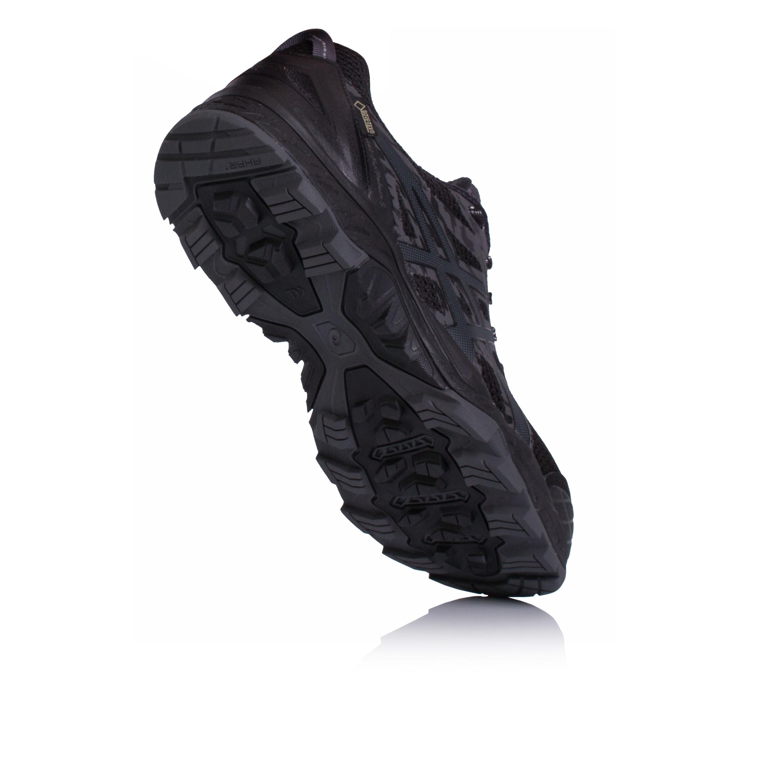 Fujitrabuco Support Shoes Black Running Gel 5 Gore Asics Womens Tex 5U1T10