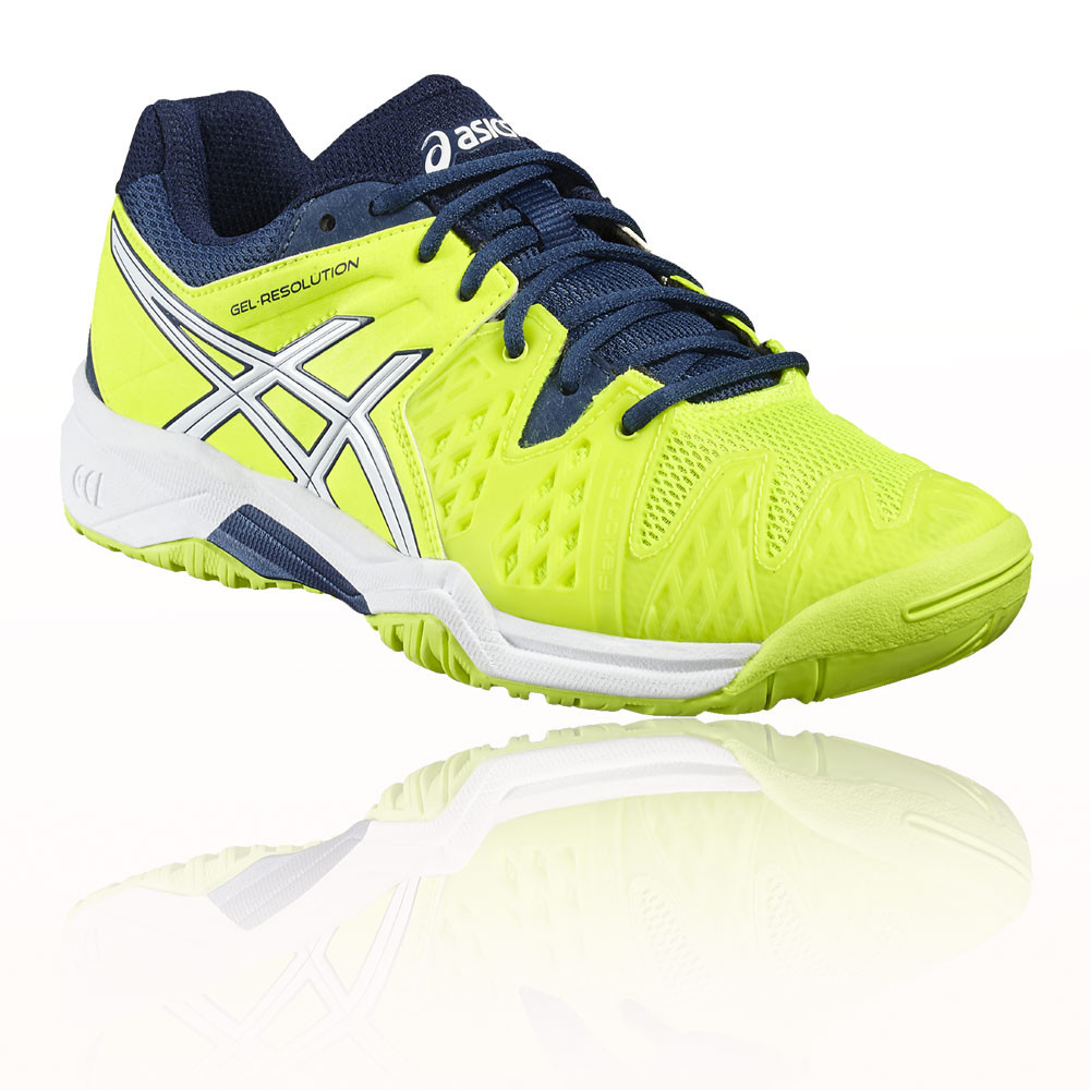 Asics Gel-Resolution 6 GS Junior Tennisschuh - 36 DBD7Mj