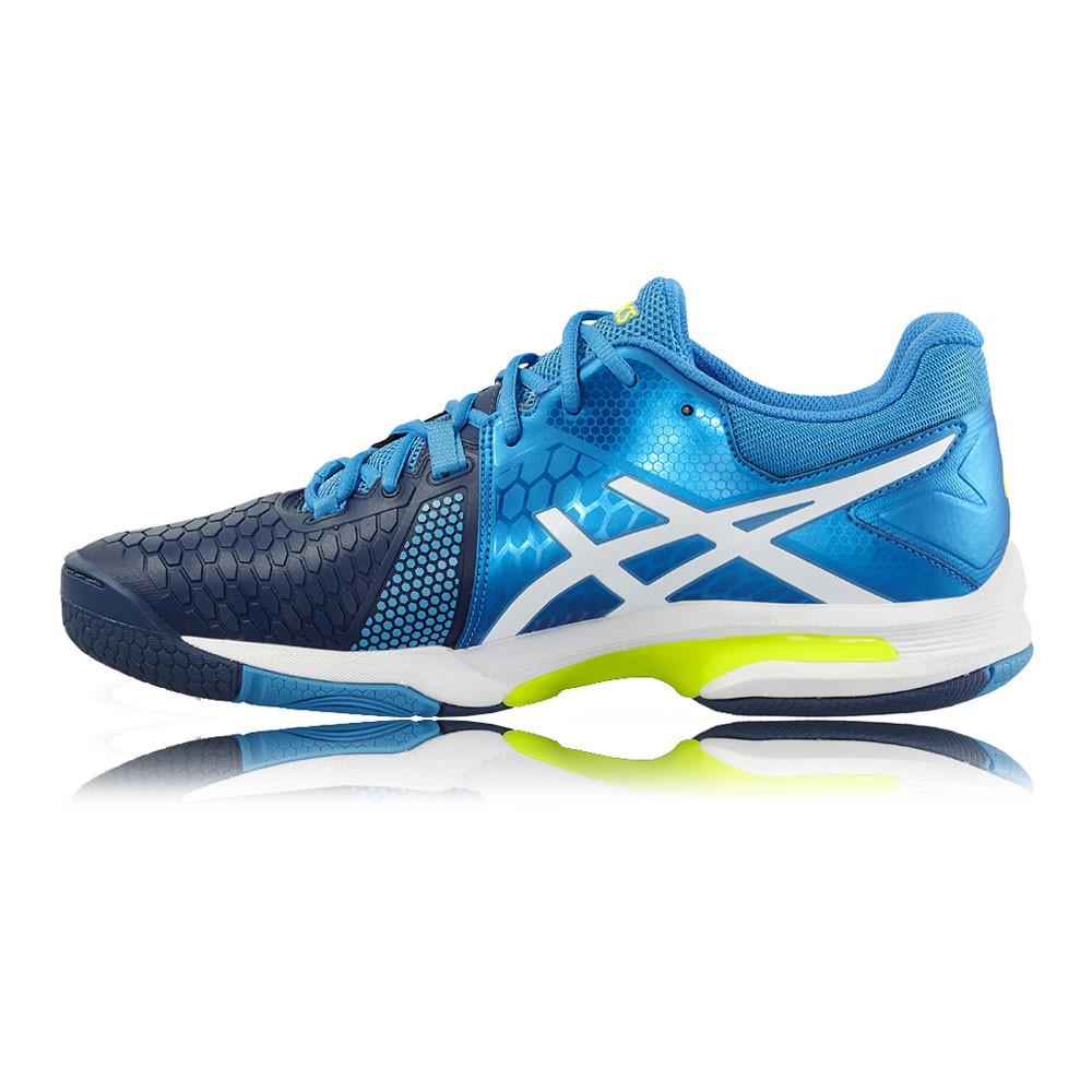 Détails sur Asics Gel Blast 7 Homme Bleu Indoor Court de Squash Chaussures De Sport Baskets Escarpins afficher le titre d'origine