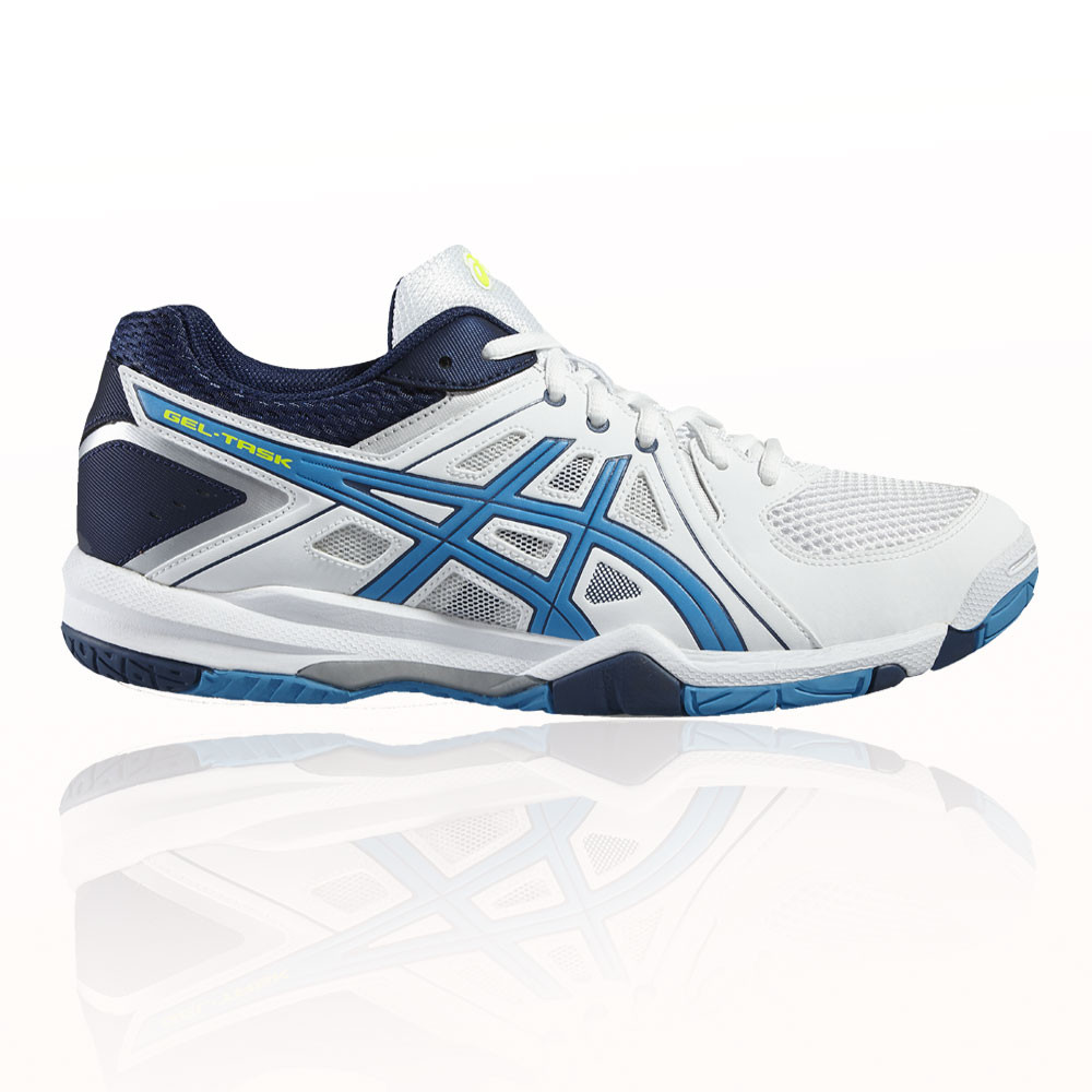 asics gel task indoor court shoes ss17 40