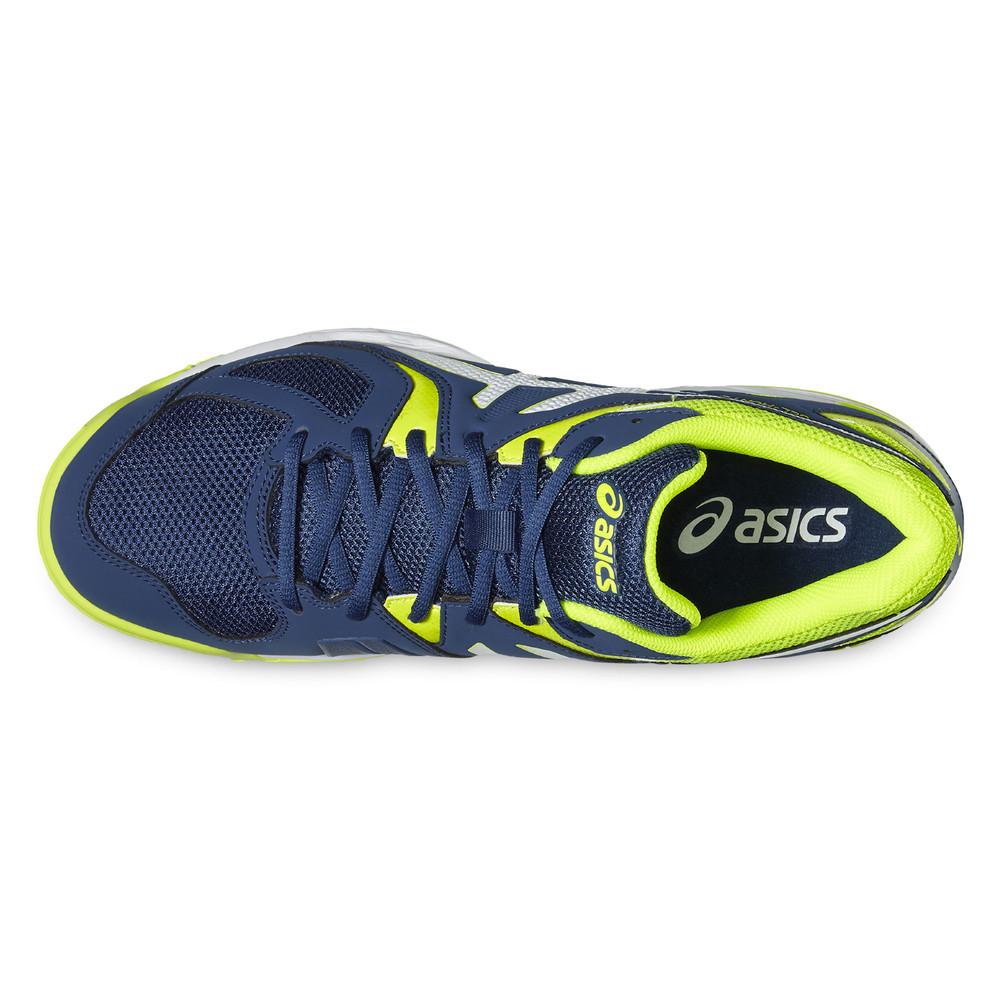 Hecho de facultativo científico  Asics Mens Gel-Hunter 3 Indoor Court Shoe - Blue Green Yellow Sports Squash  | eBay