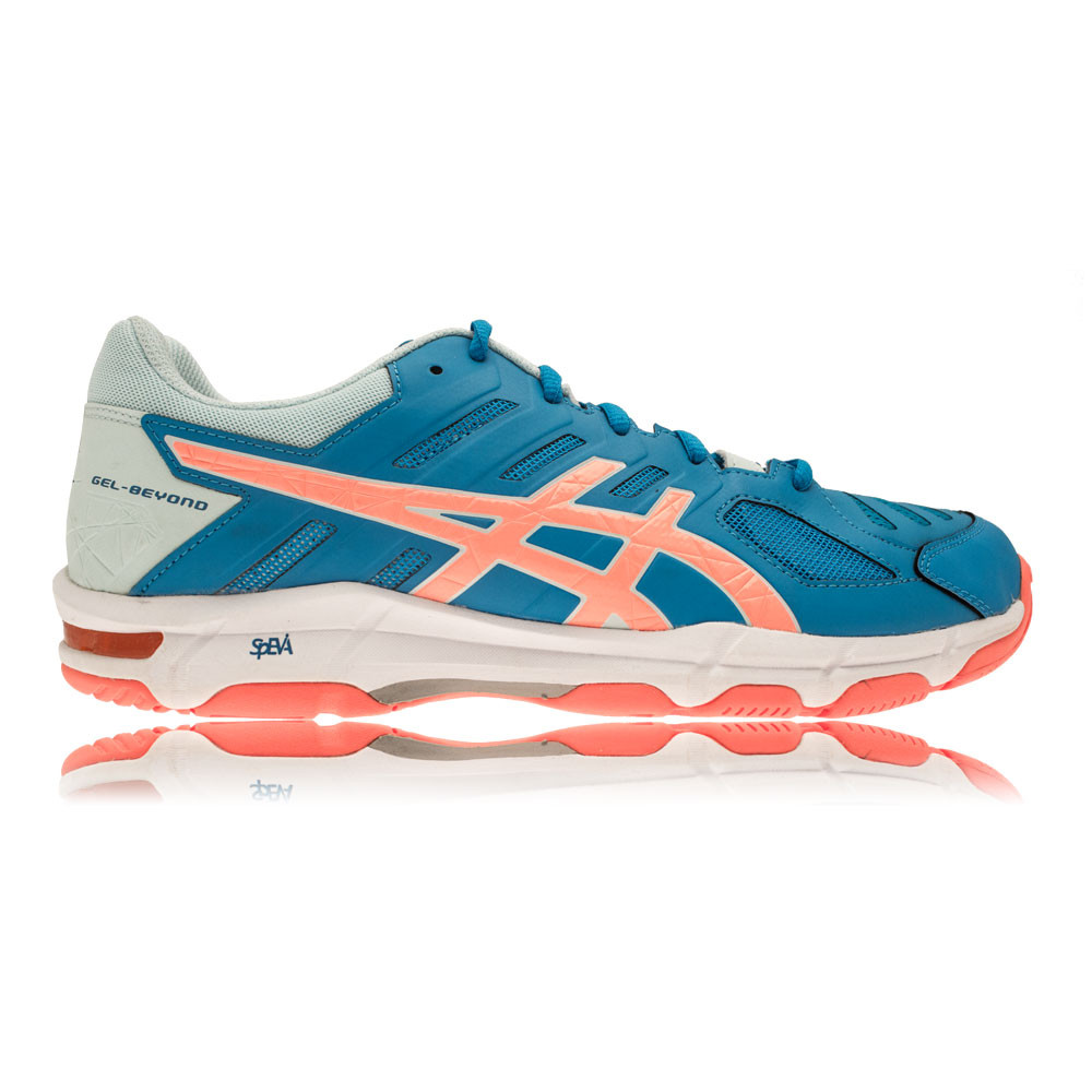 Rq49385J Asics Gel-Beyond 5 Pink Womens Indoor Court Shoes