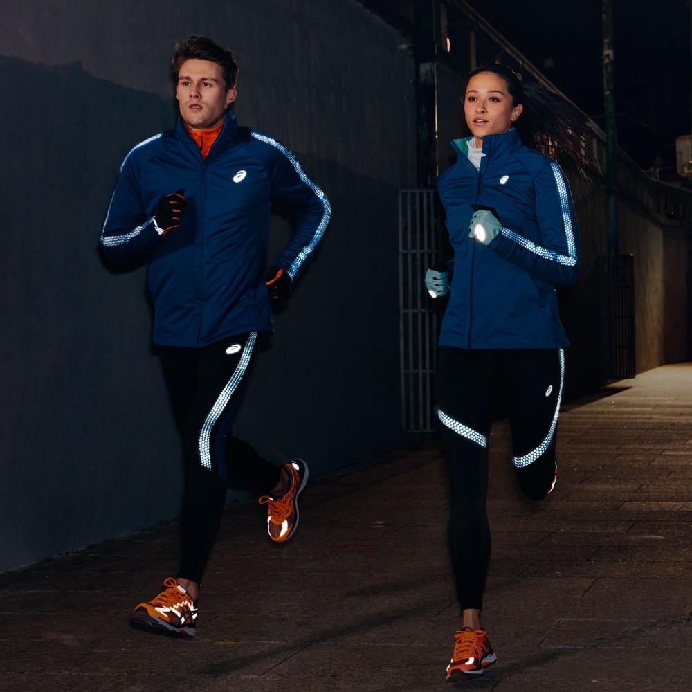asics winter running jacket