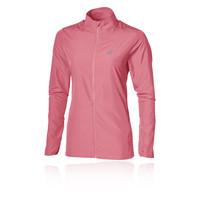 asics running jacket womens red