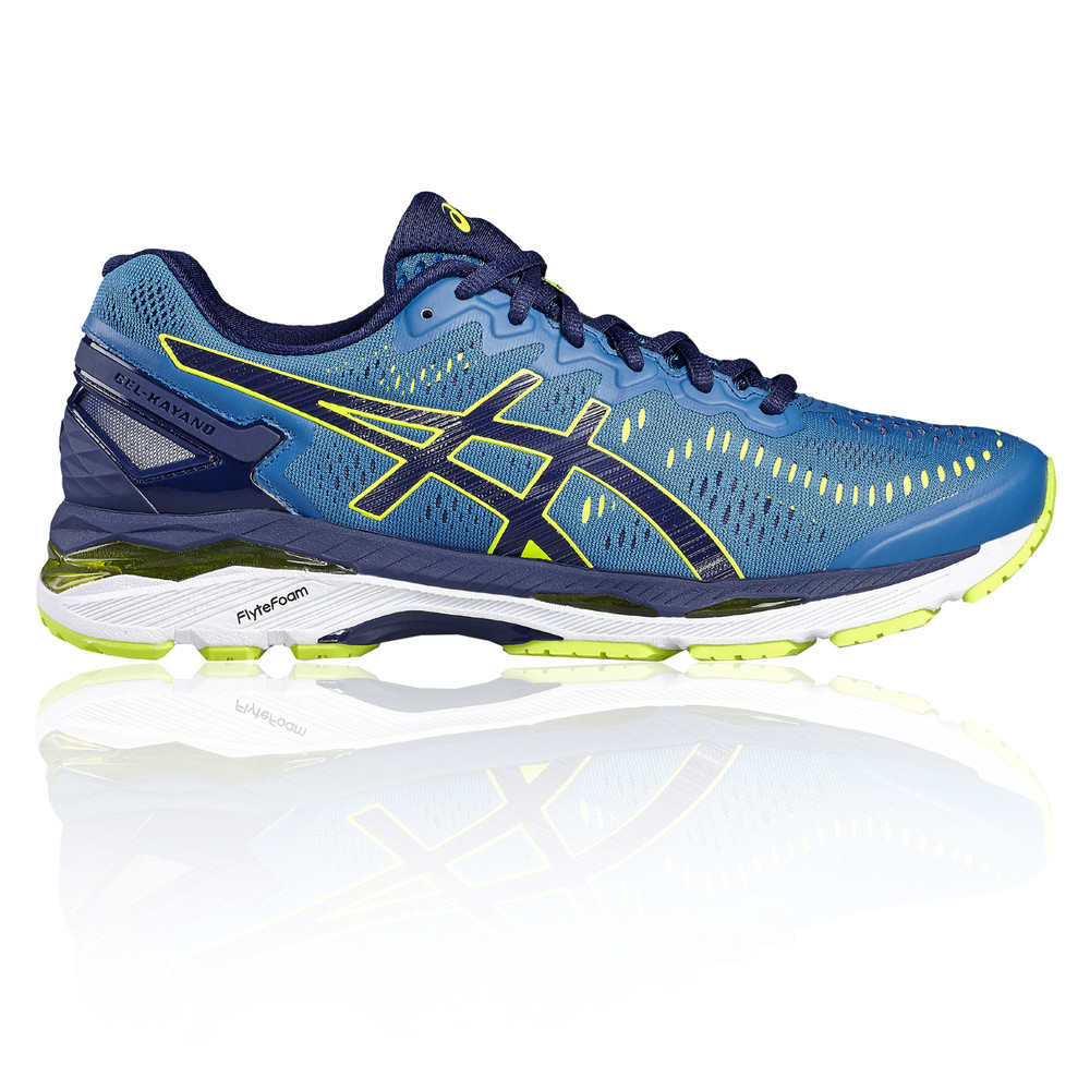 ASICS Gel-Kayano 23 Homme Bleu Support Running Road Sports Chaussures Trainers