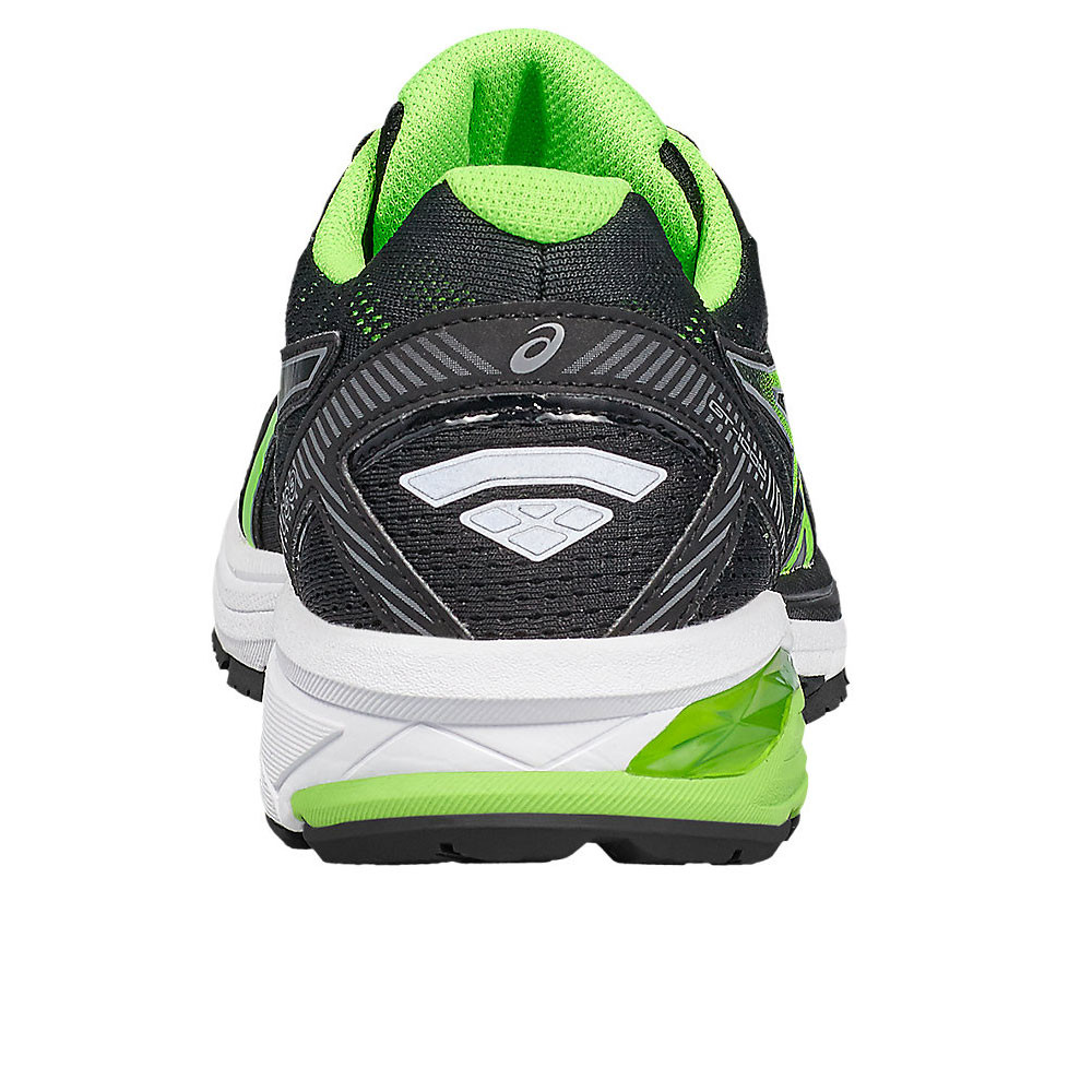 09ec4fc41824 Asics GT 1000 5 Mens Green Black Support Running Road Sport Shoes Trainers  Pumps