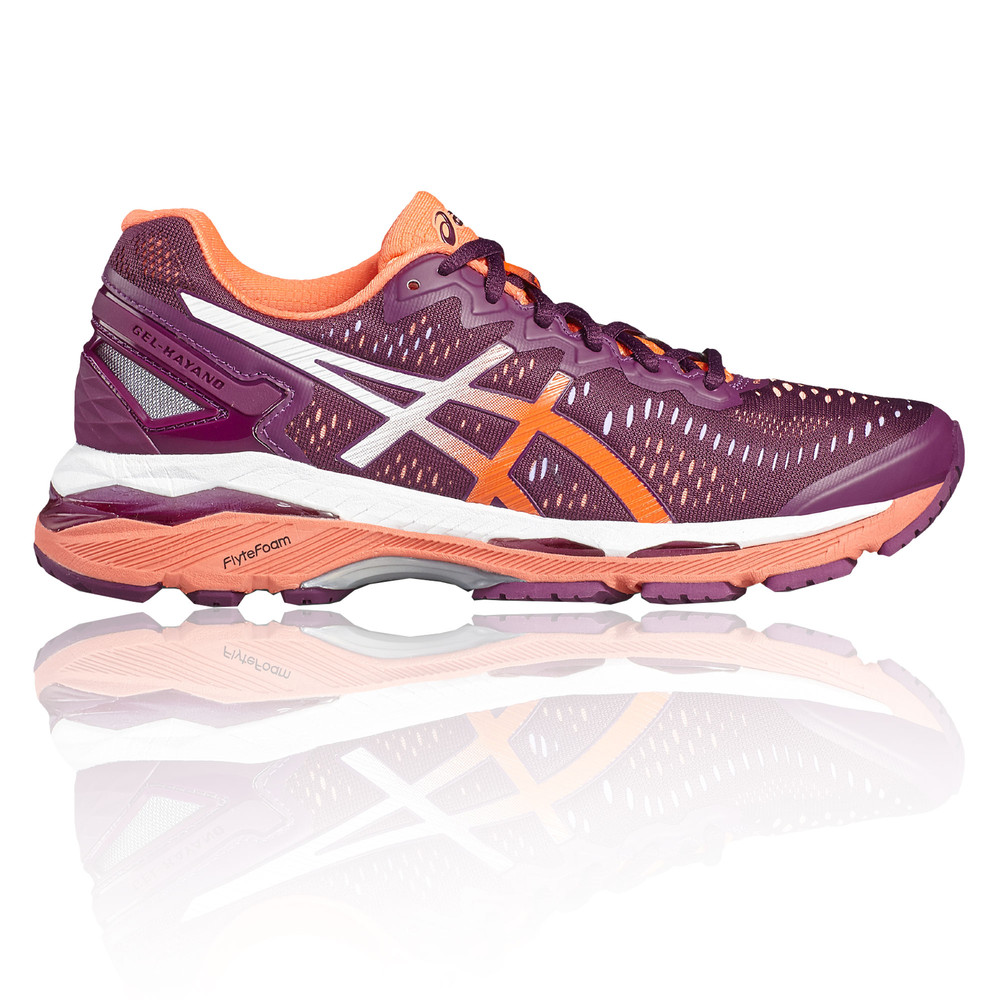 8b33ef541ed07 Asics Gel Kayano 23 Womens Purple Support Running Sports Shoes Trainers