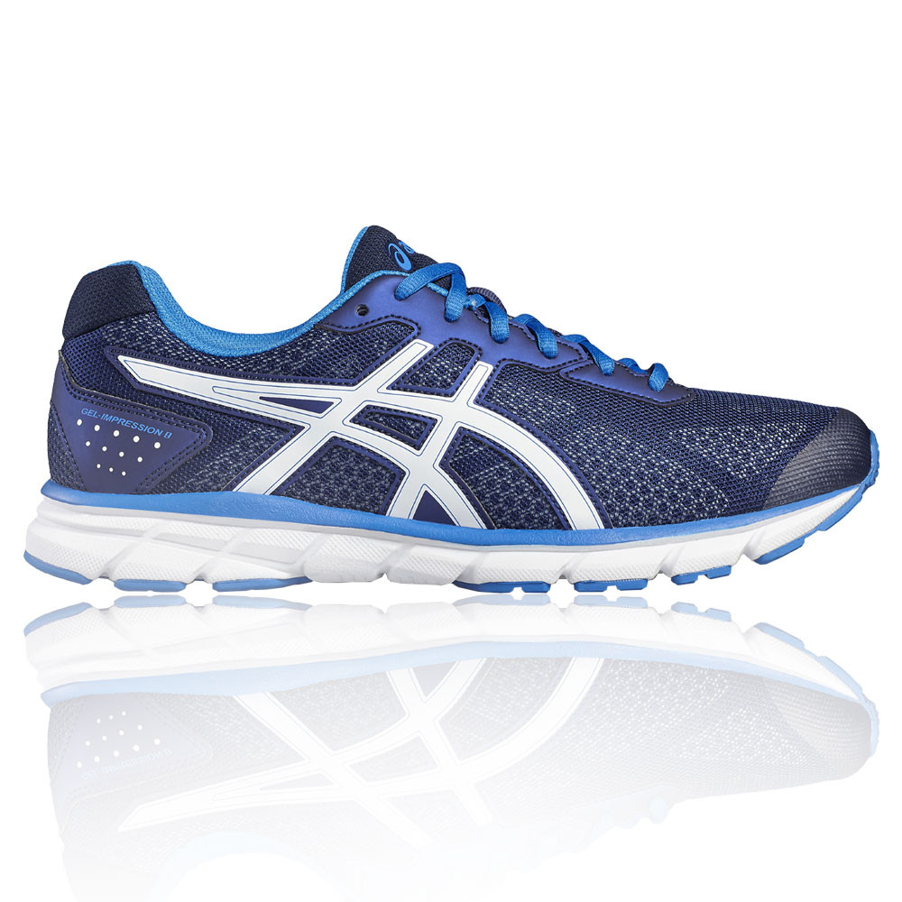Blue Impression Mens Running Shoes Asics Sports Cushioned Gel 9 qRwzzZ