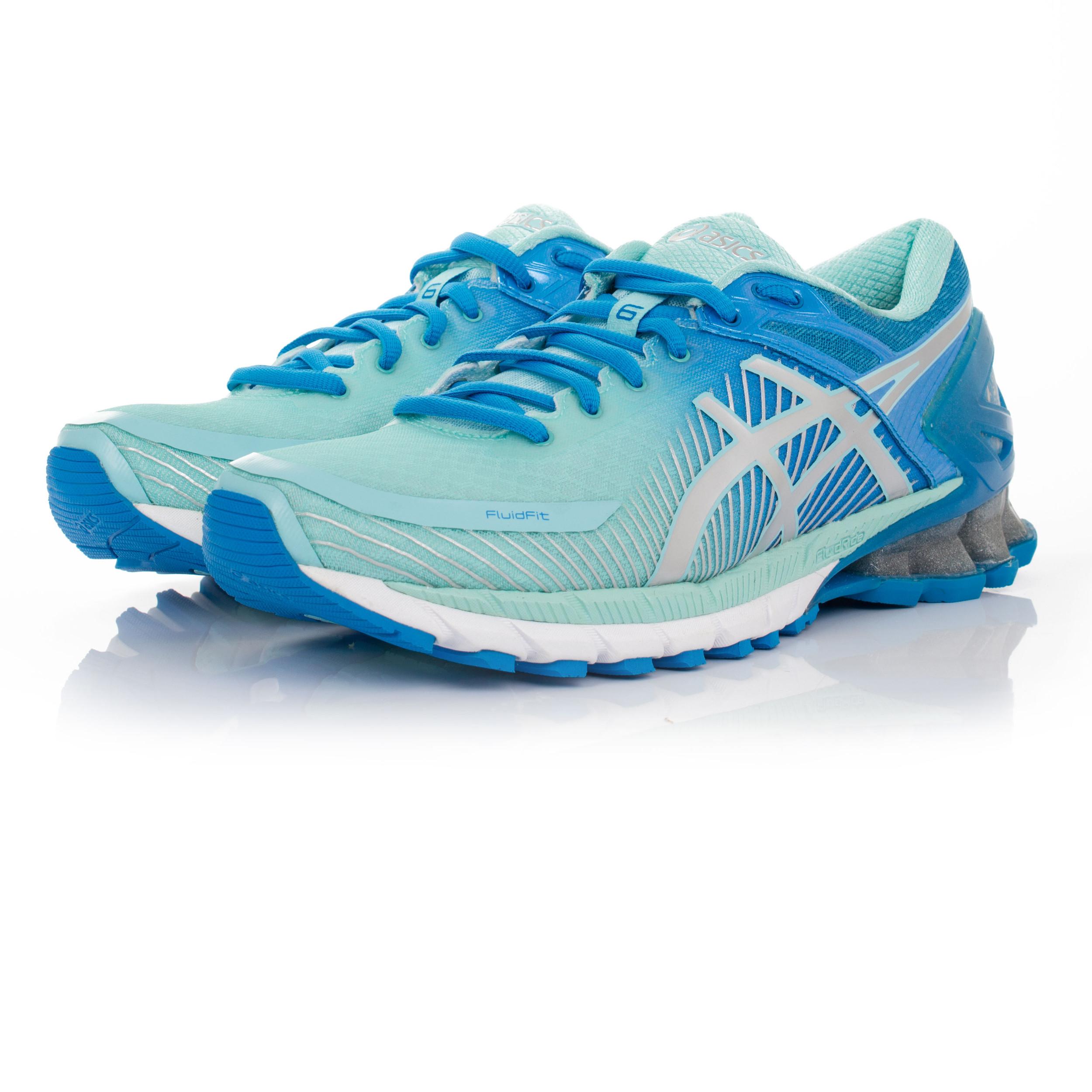 Détails sur ASICS GEL KINSEI 6 Womens Blue Cushioned Running Road Sports Shoes Trainers afficher le titre d'origine