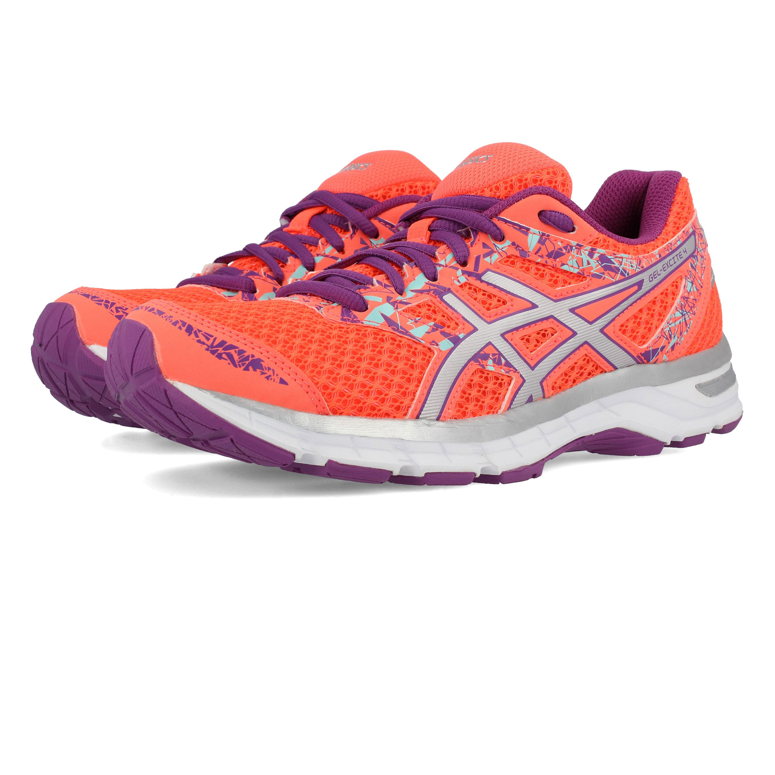ASICS GEL Excite 4 Orange Woman Shoes 7  bacc9c7421af4