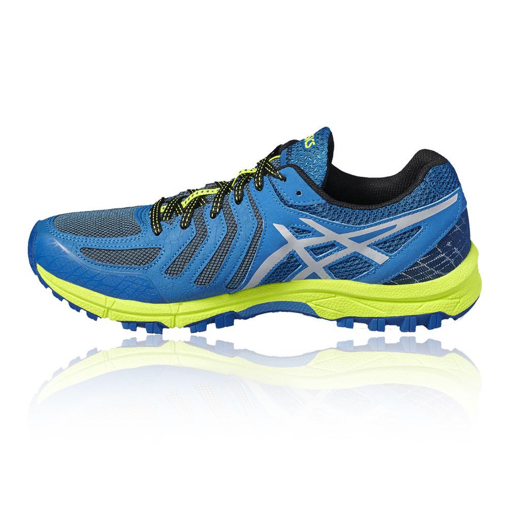 2029bf1b3005c Asics Gel Fujiattack 5 Hombres Azul Zapatillas Deportivas Trail Running  Correr