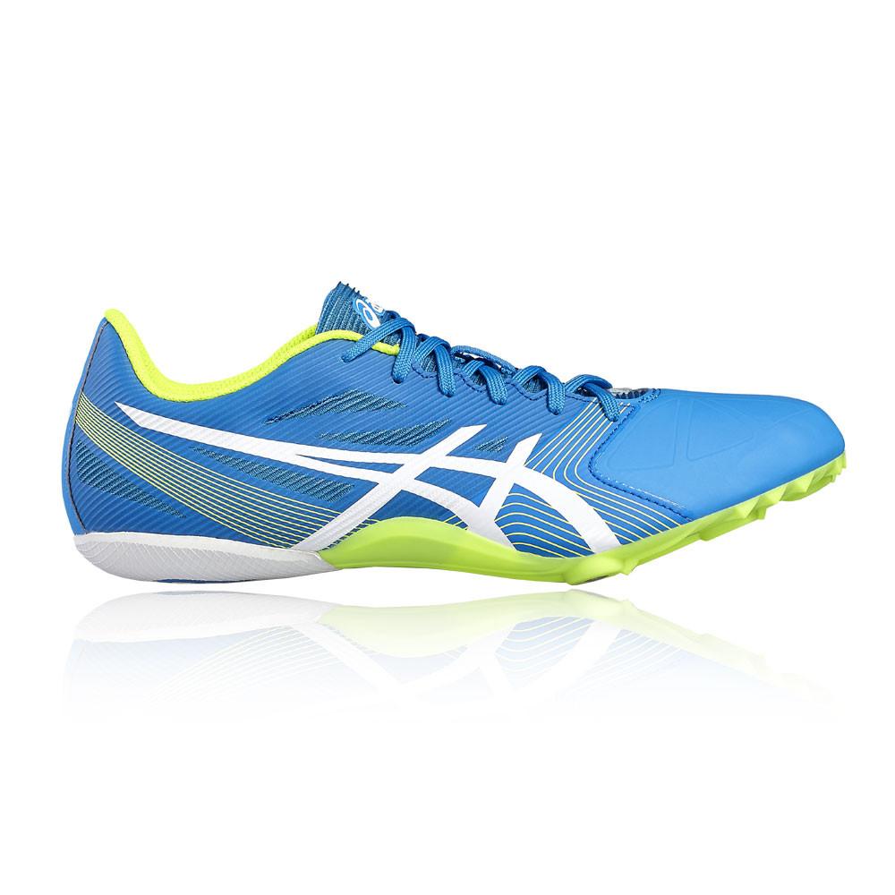 Dettagli su Asics Hyper Sprint 6 Unisex Blu Atletica Sport Scarpe da Ginnastica Borchie