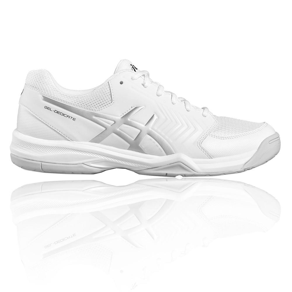 Chargement de l image en cours Asics-Gel-Dedicate-5-Homme-Blanc-Tennis- Chaussures- c91108b25ce3