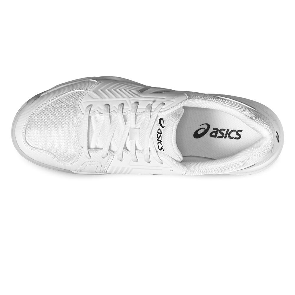 cbe072c6c974 Asics Gel Dedicate 5 Homme Blanc Tennis Chaussures De Sport Baskets Sneakers