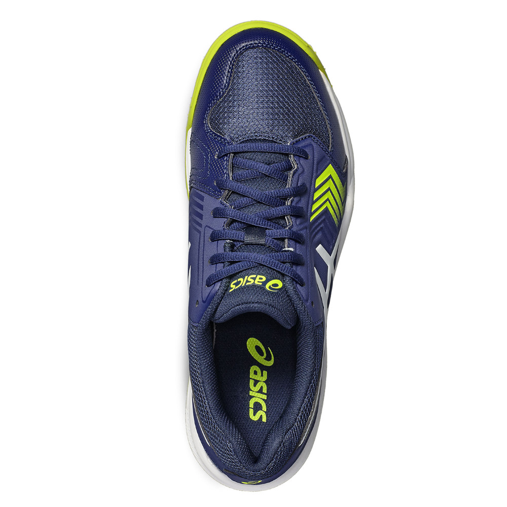 finest selection a1c3f 2b8a3 Asics Gel Dedicate 5 Mens Blue Tennis Shoes Sports Trainers Pumps Sneakers