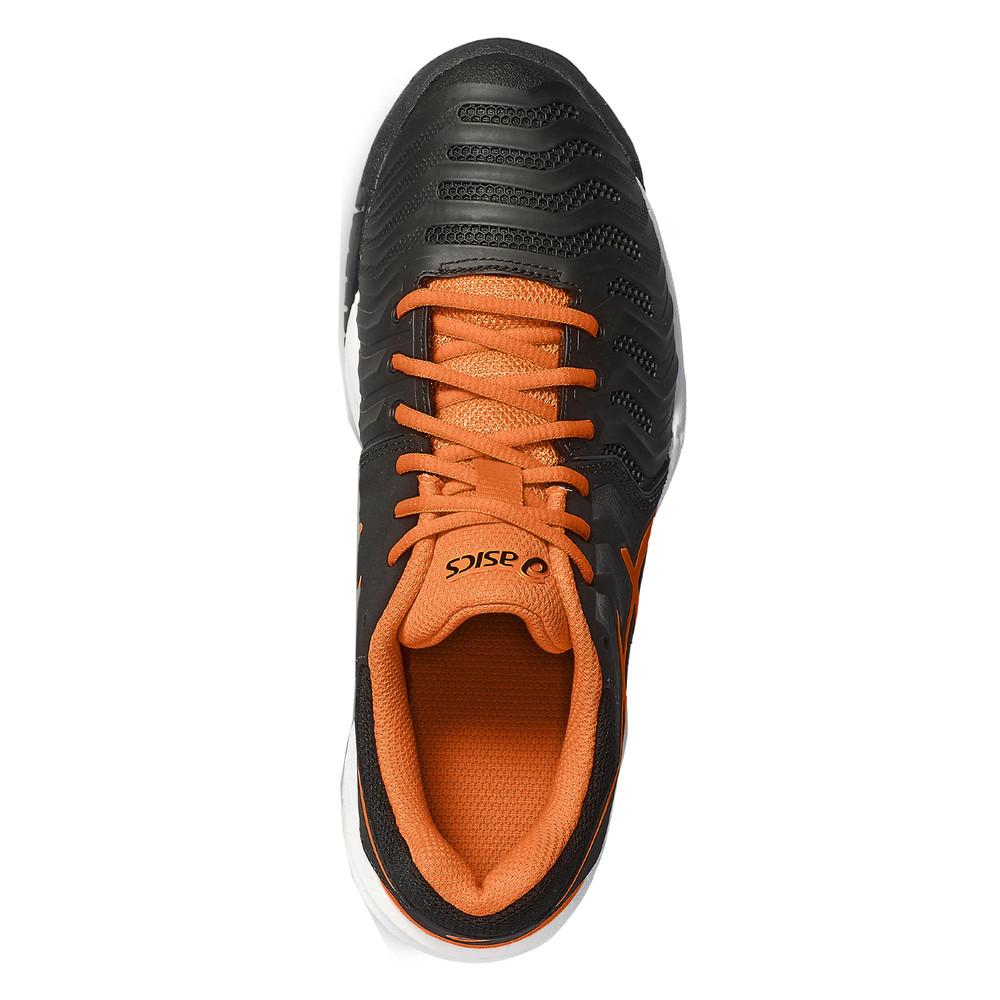 9abf06ef037e6 Asics Gel Resolution 7 Gs Junior Noir Tennis Chaussures De Sport Baskets
