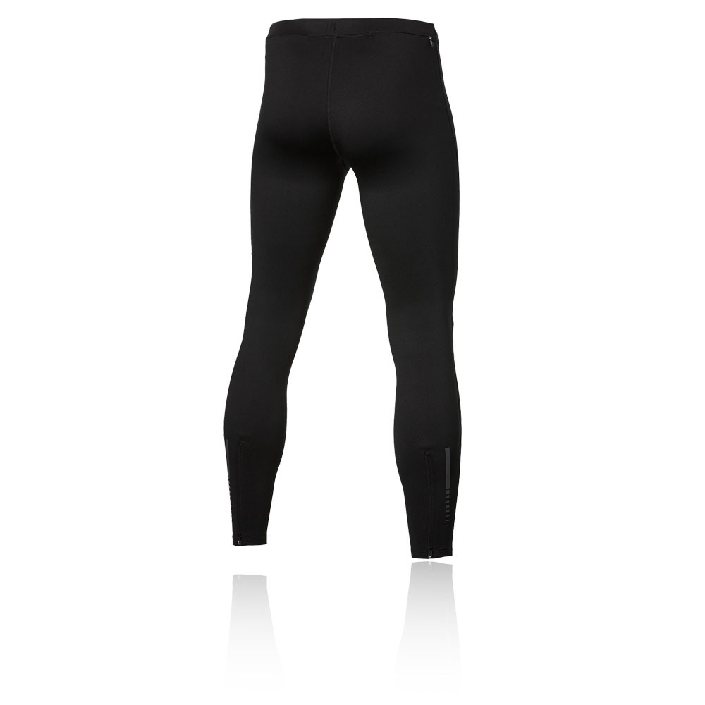 Details zu Asics Essential Herren Winter Laufhose Jogginghose Hose Sport Tight Schwarz