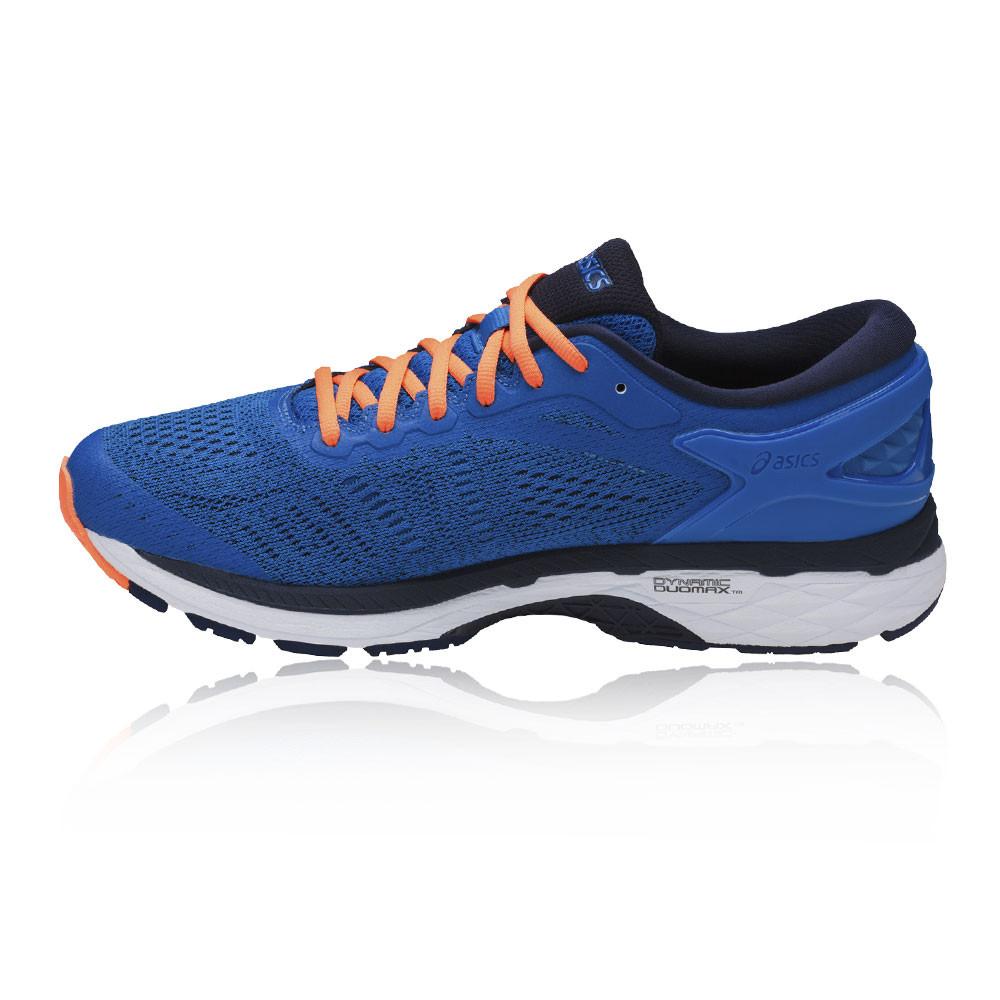 Asics-Gel-Kayano-24-Da-Uomo-Blu-Supporto-Corsa-Scarpe-Sportive-Scarpe-da-ginnastica-pompe