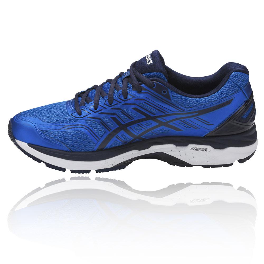 Asics GT-2000 5   5 Herren Blau Support Running Sports Schuhes Trainers 2E Width ffc9f1