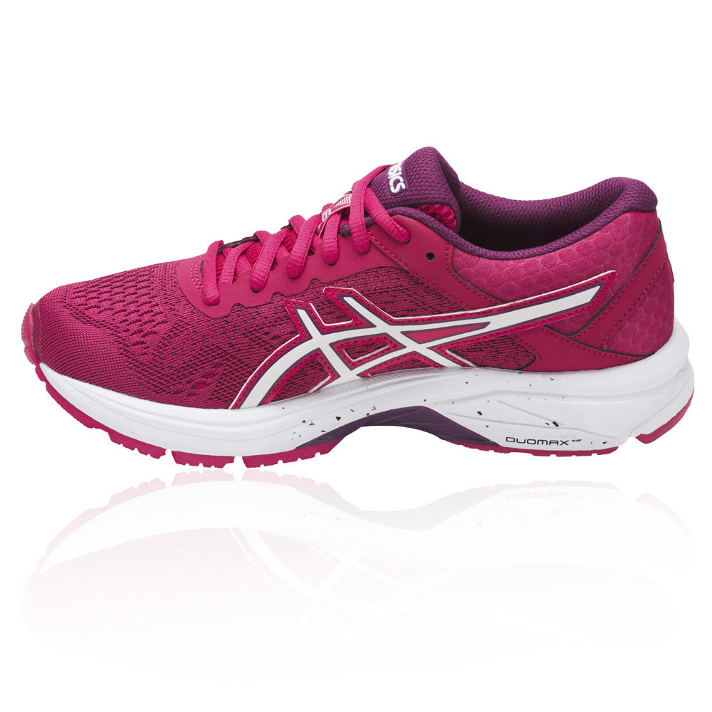 Asics-gt-1000-6-womens-pink-Support-Running-Road-Sports-Shoes-Trainers
