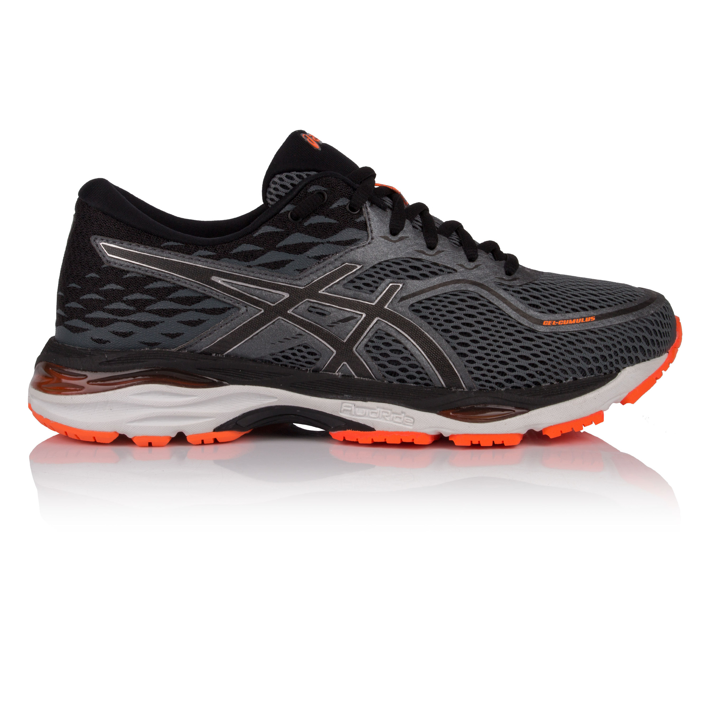 73687c1cd Asics Gel-Cumulus 19 Mens Grey Cushioned Running Road Sports Shoes Trainers