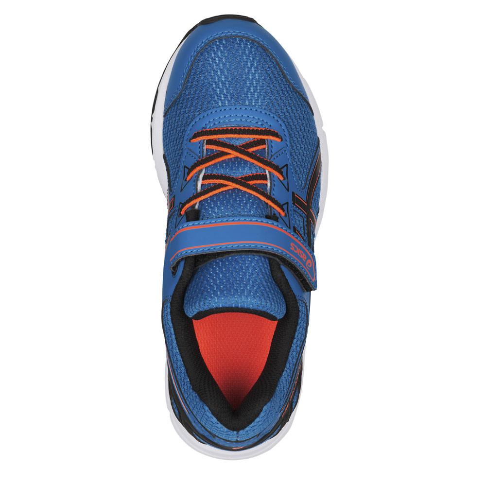 Détails sur Asics Gel Galaxy 9 Ps Enfant Bleu Running Route Chaussures De Sport Baskets