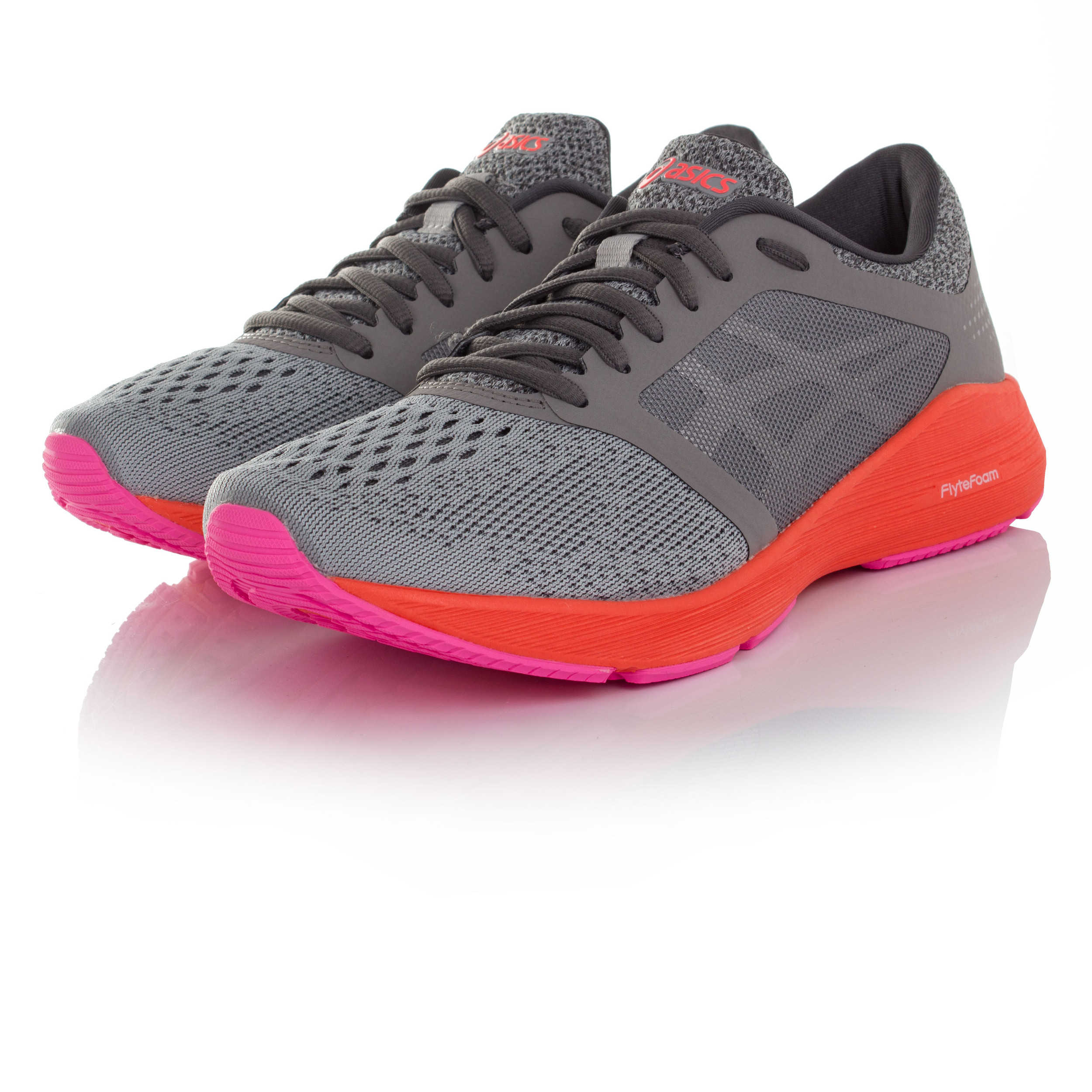 zapatillas asics mujer gris
