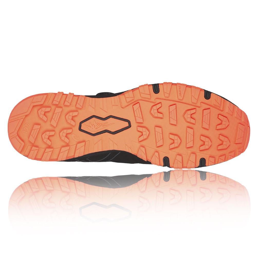 35288b2e9 Asics Hombre Negro Gel-Fujirado Sendero Correr Deporte Zapatos Zapatillas