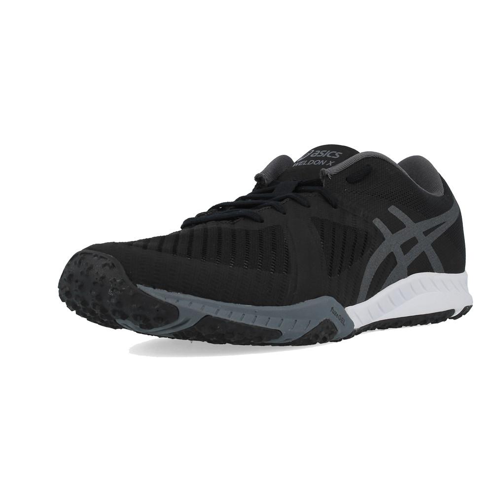 Asics Weldon X Mens Black Cross Training Gym Sports Shoes Trainers Pumps 9a1750130cc