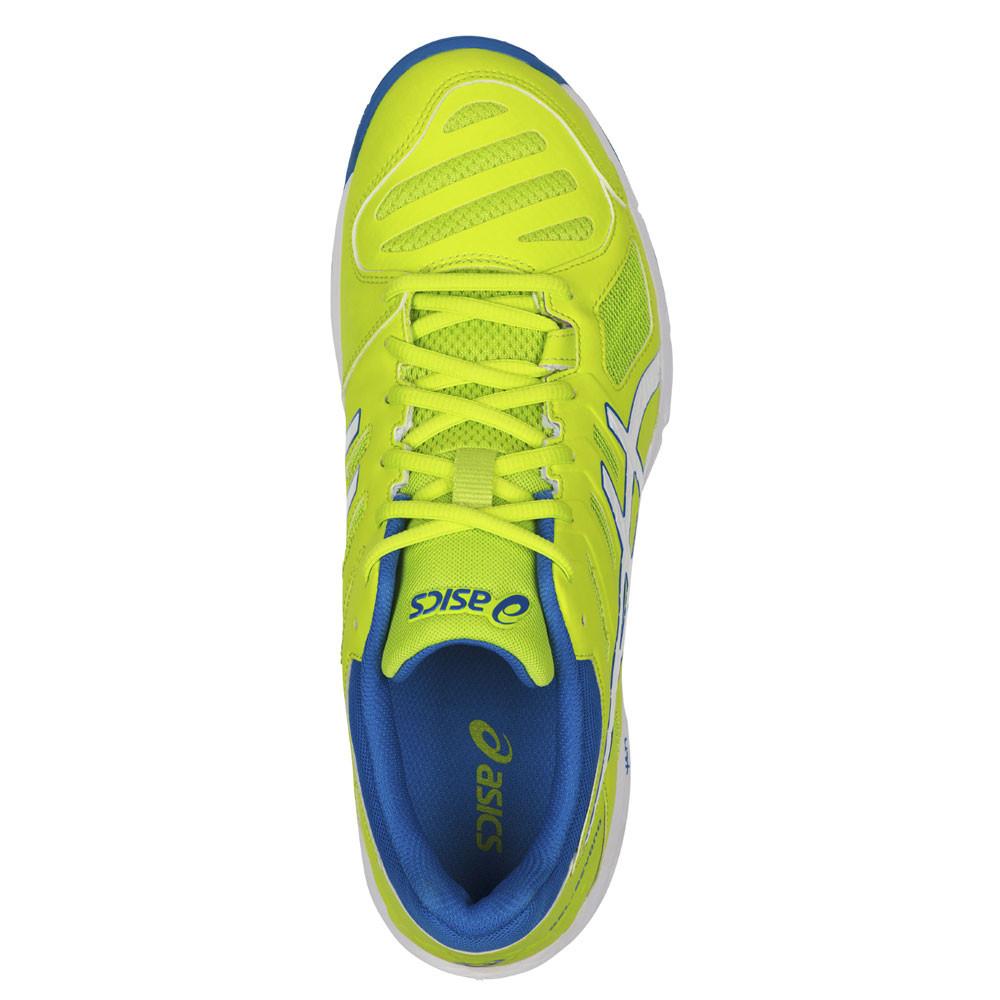 Détails sur Asics Gel Beyond 5 Hommes Jaune Squash Chaussures De Sport En Salle Baskets