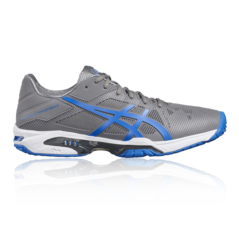 3 Chaussures Solution Tennis Asics Hommes Gris Speed Gel wqI4xI1