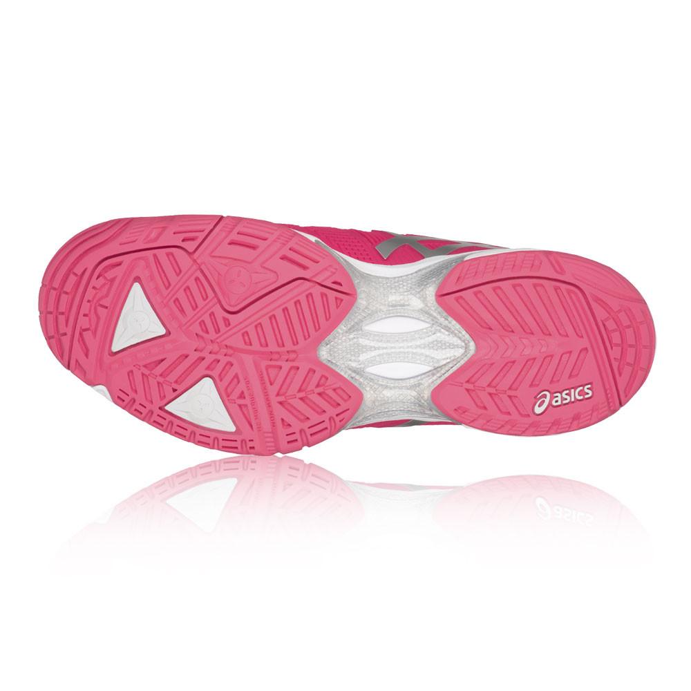 Asics Gel-solución velocidad 3 para mujer rosa Cancha Cancha rosa De Tenis Zapatos Deportivos Zapatillas 49e724