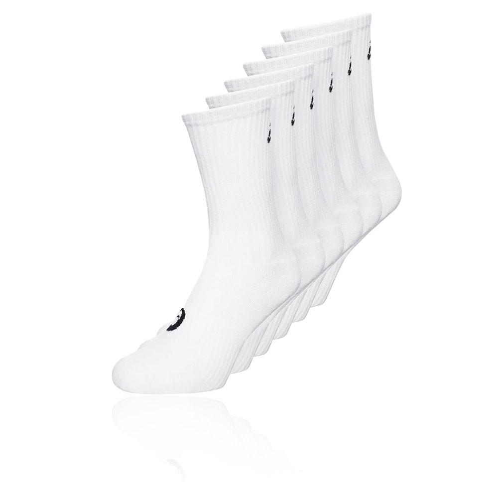 Asics 6 Pack Crew Socks - AW19