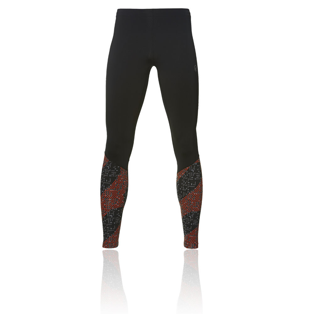 dc971497 Details about Asics Mens Race Running Tights Bottoms Pants Black Sports Zip  Pocket Lightweight
