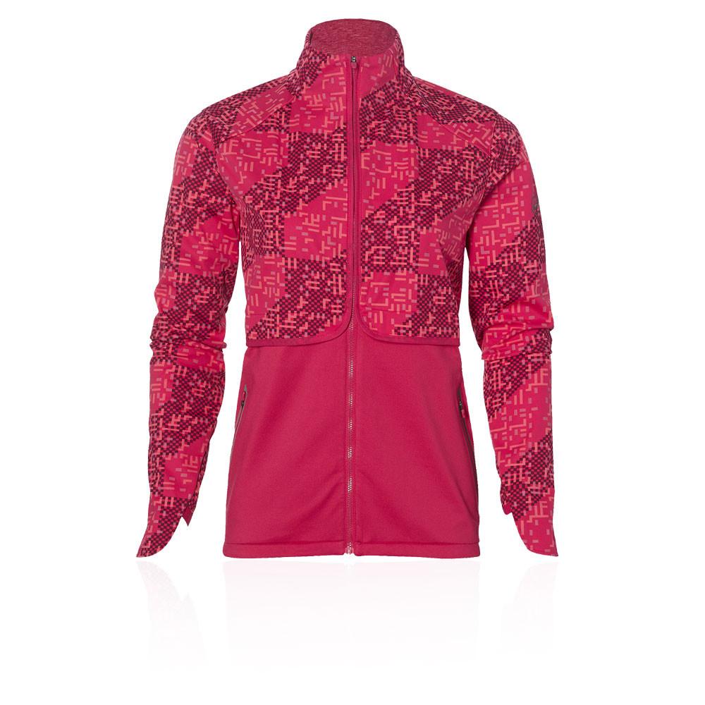 Asics Lite-Show para mujer Winter chaqueta de running