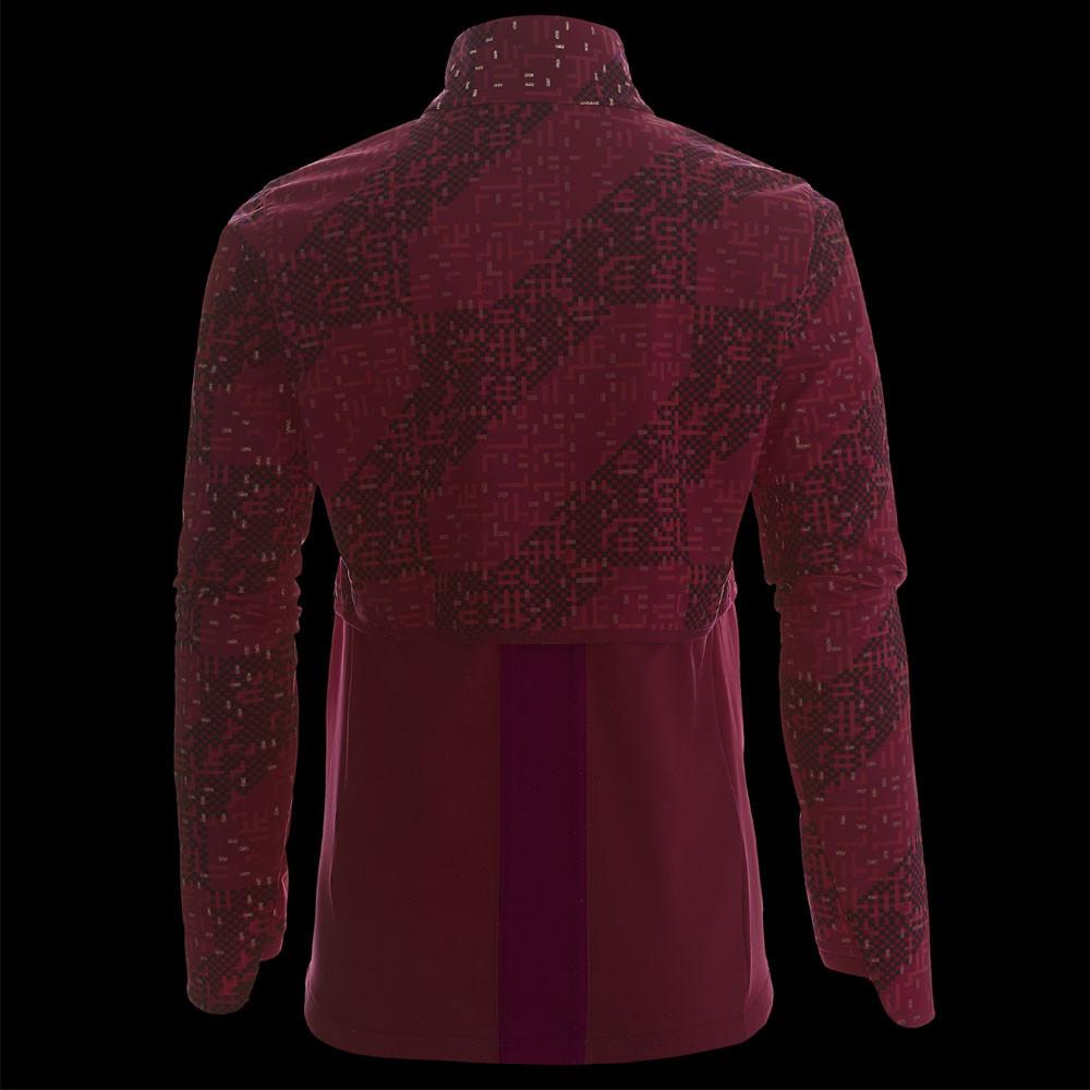 b960c5cef8ac3 Asics Donna Rosa Rosso Lite Show Winter Giacca Da Corsa Inverno Riflettente