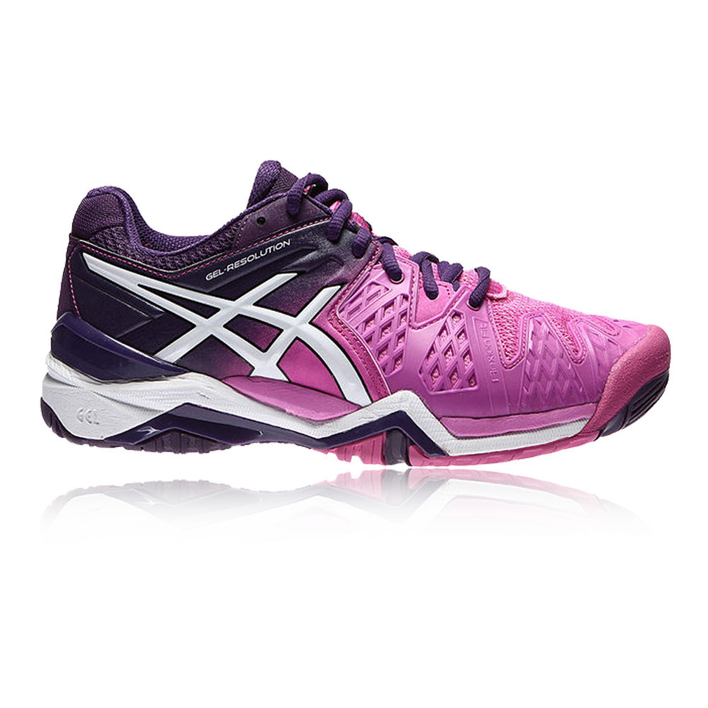 Asics Gel Resolution  Junior Tennis Shoe